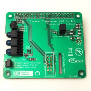 Irdroid-Rpi Infrared Transceiver_top_view