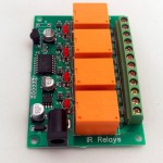 Irdroid relay board 2 (Small)