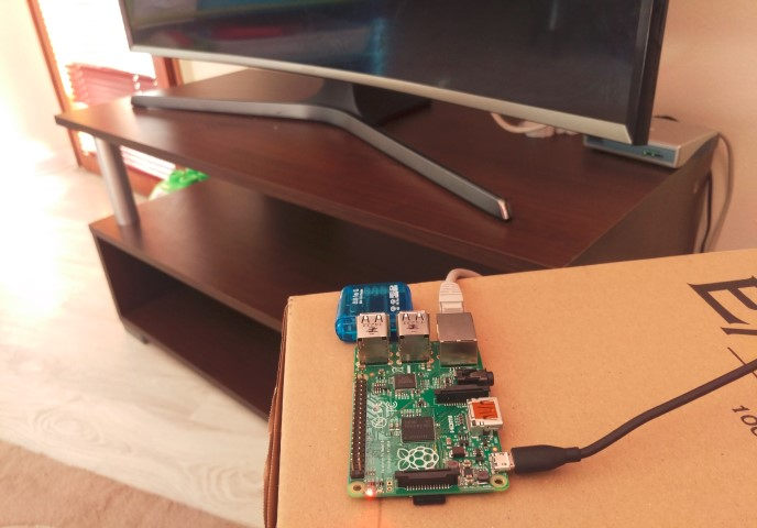 The Irdroid USB IR Trasnceiver working with Raspberry Pi