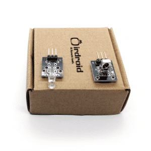 infrared transmitter and receiver kit