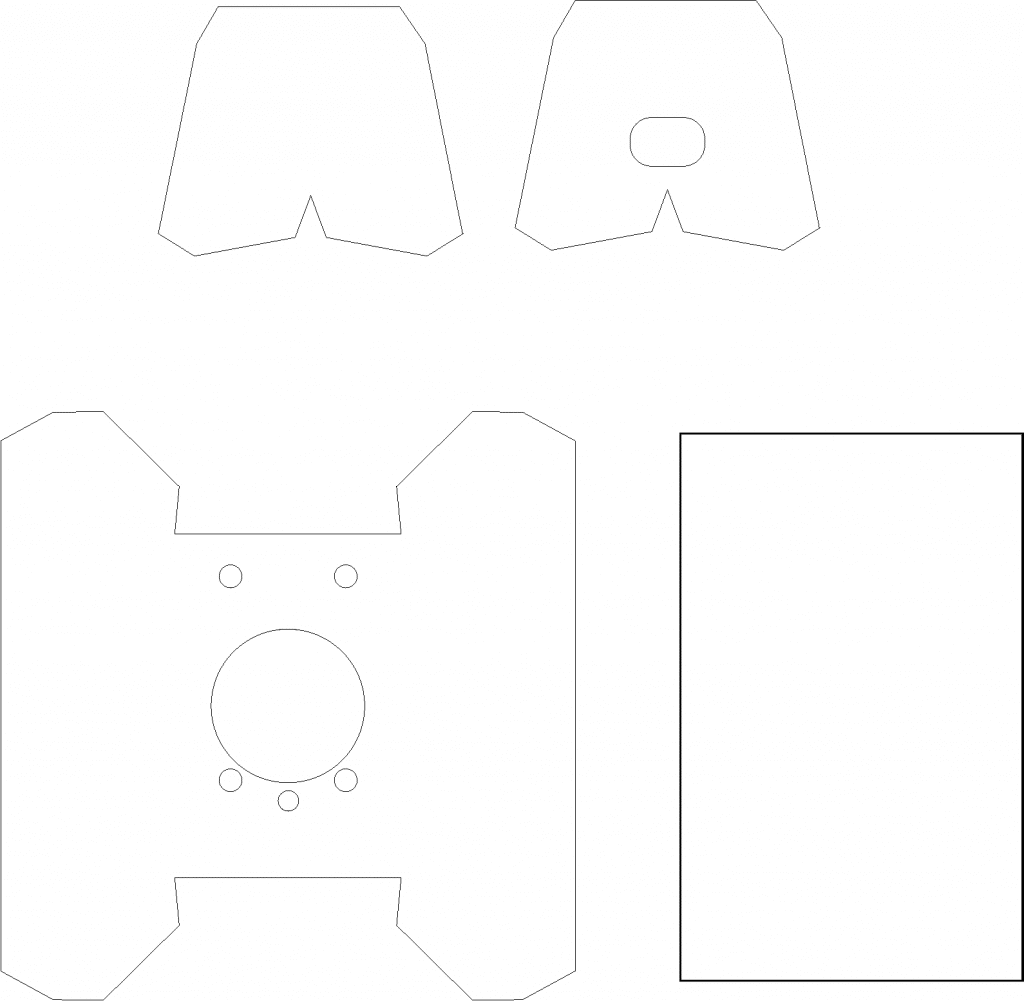 The CyberMask CardBoard Template